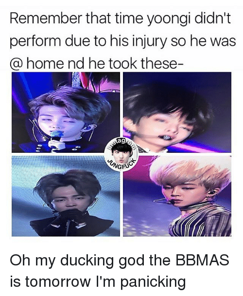 Remember That Time Yoongi Didn't Perform Due to His Injury