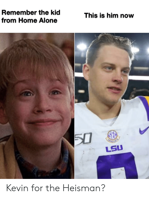 Remember The Kid This Is Him Now From Home Alone 50 Lsu
