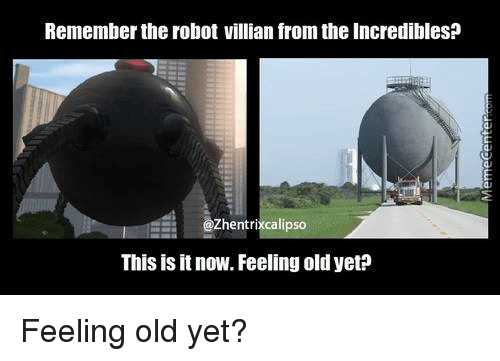 Remember The Robot Villian From The Incredibles Zhentrixcalipso