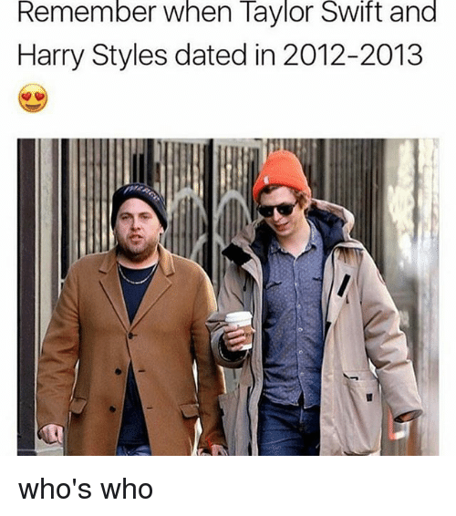 Sont Harry styles et Taylor Swift Dating 2013