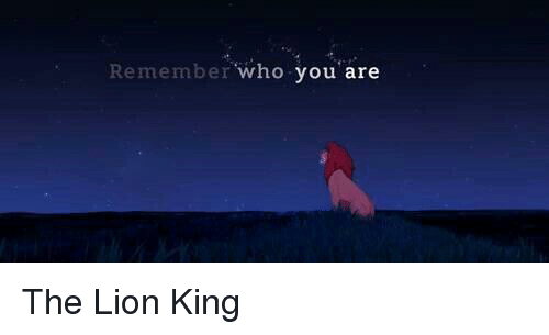 Remember Who You Are The Lion King Meme On Meme