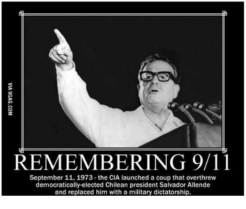 remembering 9 11 september 11 1973 the cia launched a coup that 17745843 ✅ 25 best memes about september 11 meme september 11 memes