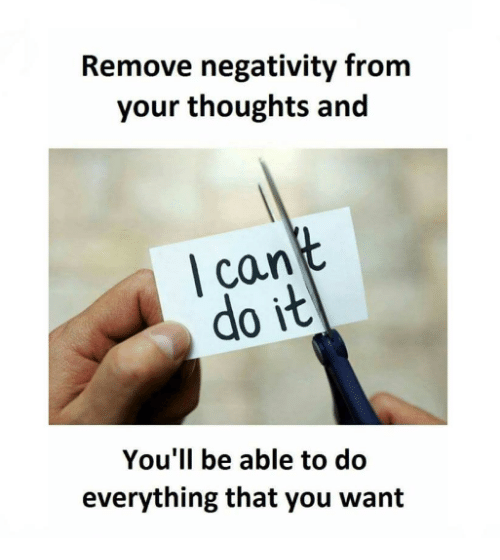 Image result for remove negativity