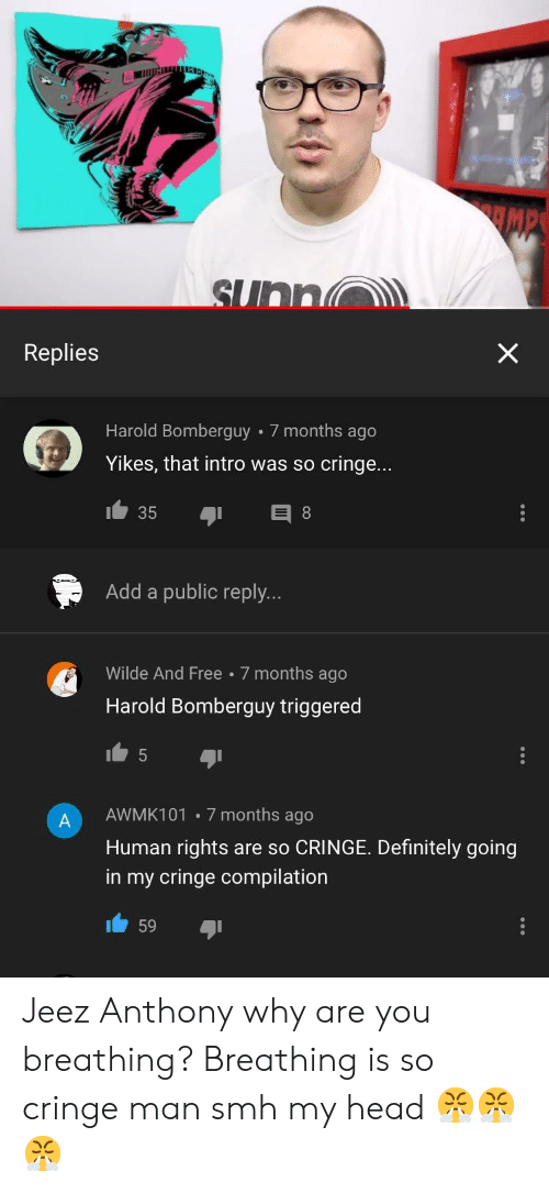 Replies Harold Bomberguy 7 Months Ago Yikes That Intro Was