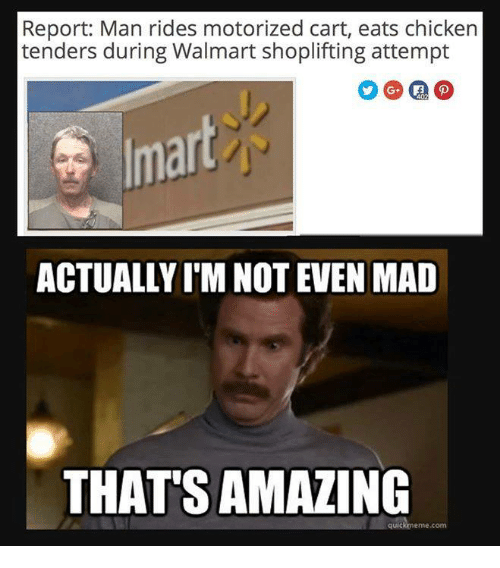 report man rides motorized cart eats chicken tenders during walmart 4561533 ✅ 25 best memes about meanwhile at walmart meanwhile at,Tender Meme