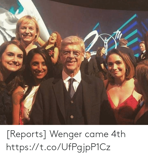 Memes, 🤖, and Wenger: [Reports] Wenger came 4th https://t.co/UfPgjpP1Cz