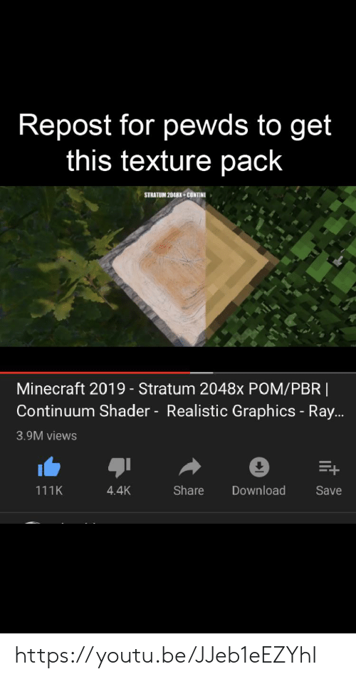 Repost for Pewds to Get This Texture Pack STRATUM 2048X
