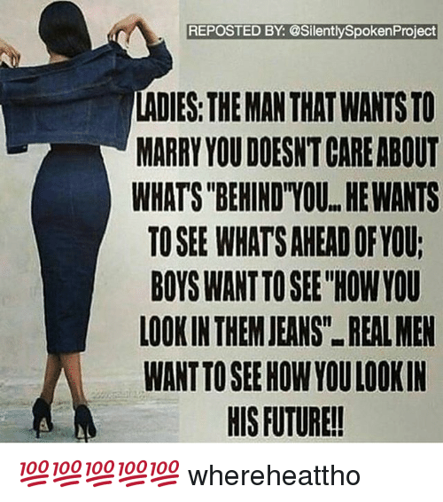 If a man wants to marry you