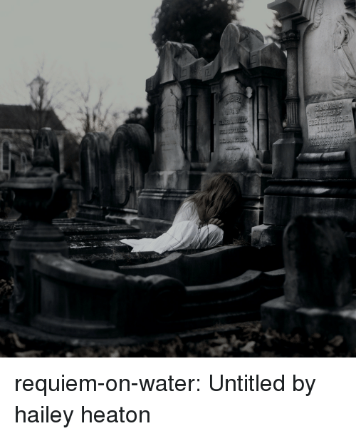 Tumblr, Blog, and Flickr: requiem-on-water:  Untitledby hailey heaton
