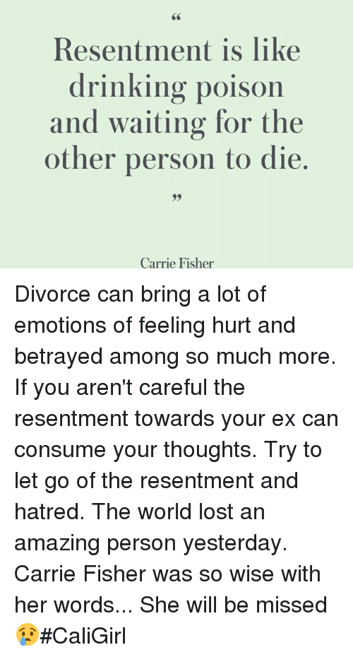 Resentment divorce