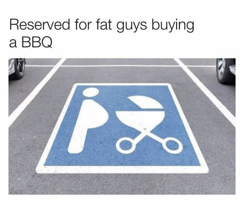 Dank, Fat, and 🤖: Reserved for fat guys buying  a BBQ