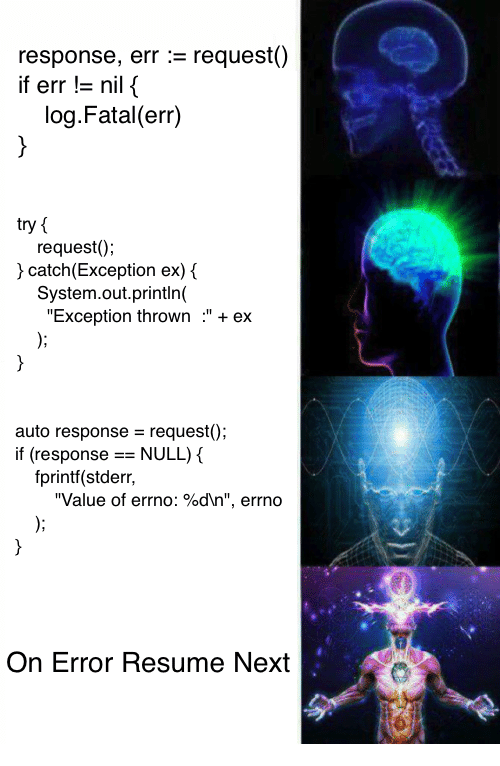 how to catch observable error
