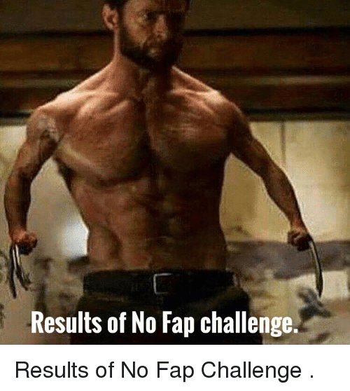 no fap challenge results