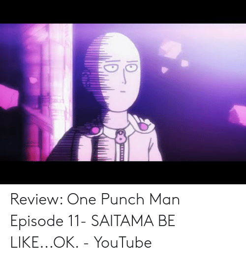 One Punch Man Episode 11 Youtube