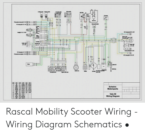 Mobility Scooter Wiring Diagram from pics.me.me