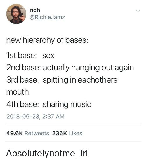 Dating 2. base