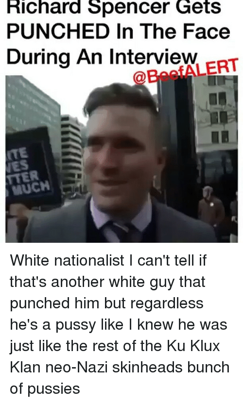 richard spencer gets punched in the face during an interview 12597650 ✅ 25 best memes about richard spencer getting punched richard,Richard Spencer Memes
