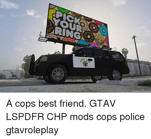 RING a Cops Best Friend GTAV LSPDFR CHP Mods Cops Police