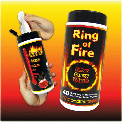 Burning Ring Of Fire Wipes