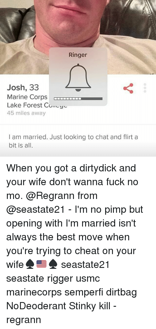 Married and looking chat