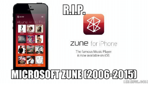 rip zune for iphone the famous music player is now 13942728 ✅ 25 best memes about google play msuic google play msuic memes