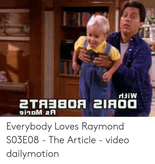 Rldiw Everybody Loves Raymond S03E08 - The Article - Video