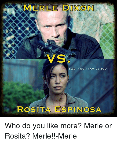 Rmerle Tron Vs Twd Your Family Too Rosita Espinosa Who Do