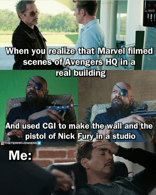 RN15 When You Realize That Marvel Filmed Scenes of Avengers