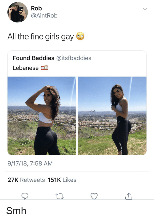 All girls are gay