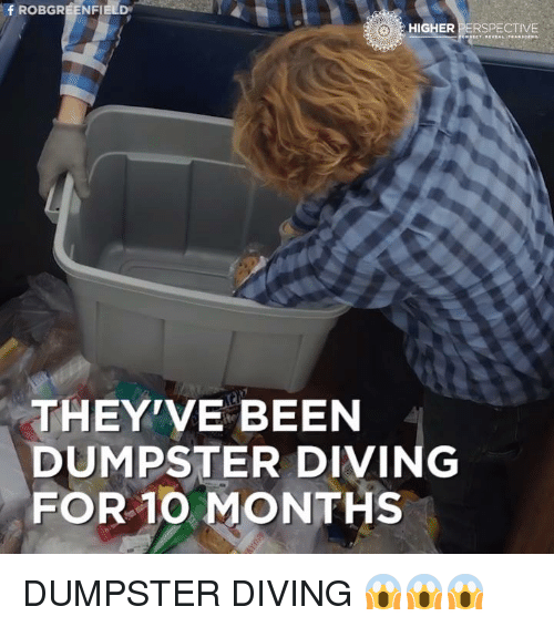 dumpster diving dating Dumpster diving: for love, salvation or identity theft dumpster diving may be illegal in phoenix, but that hasn't stopped many from plunging into trash to find food or commit identity theft.