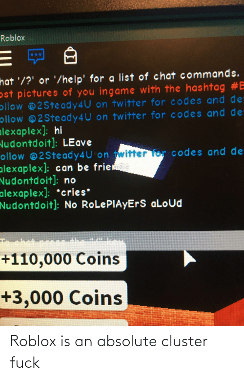 Roblox Hat Or Help For A List Of Chat Commands Ost Pictures