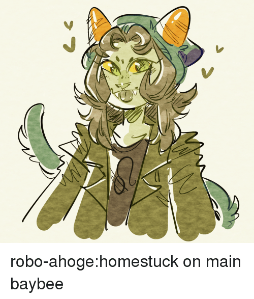 Target, Tumblr, and Blog: robo-ahoge:homestuck on main baybee