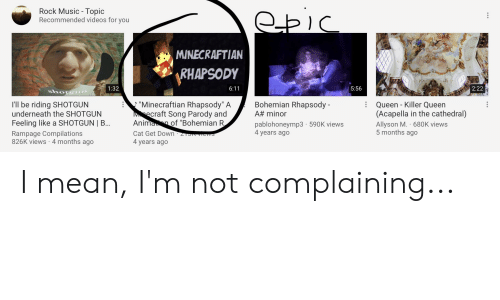 Rock Music - Topic Recommended Videos for You MINECRAFTIAN