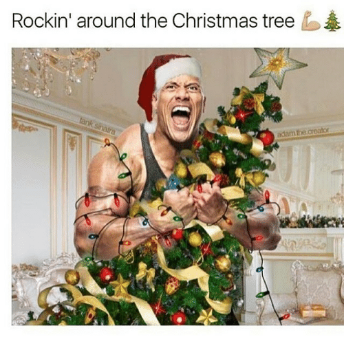 Rockin Around The Christmas Tree Adaarm The Creator Meme On Me Me
