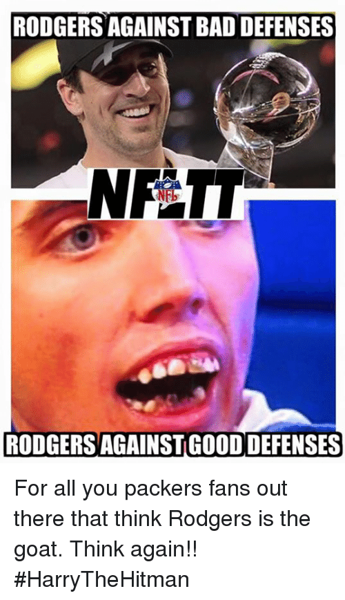RODGERS AGAINST BAD DEFENSES NFT RODGERS AGAINSTGOOD