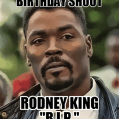 rodney king king meme on me me