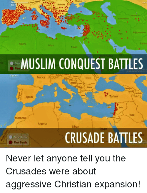 the crusade unjustified attack on muslims The crusades: from beginning to why crusades were necessary: muslims were ad pope urban ii called for an unjustified attack on the peace loving.