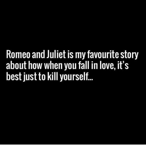 who does romeo fall in love with
