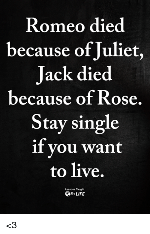 reasons why romeo and juliet died