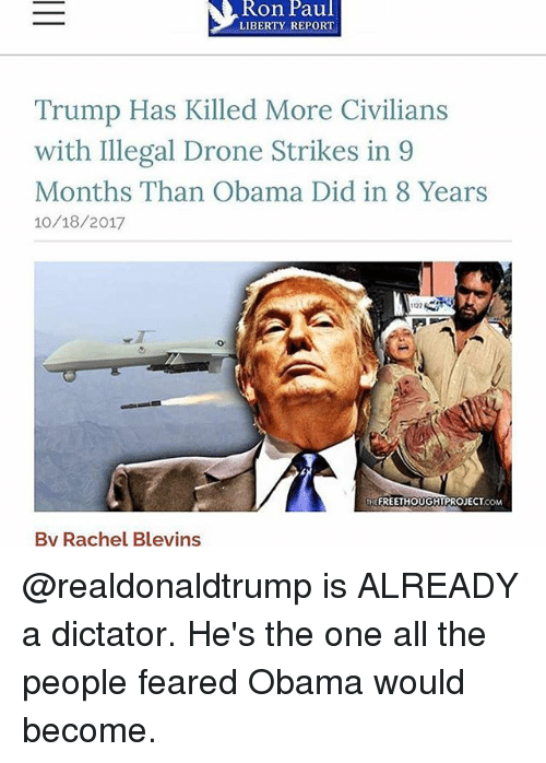 Image result for How Many Civilians Did Trump Kill in Drone Strikes Last Year?