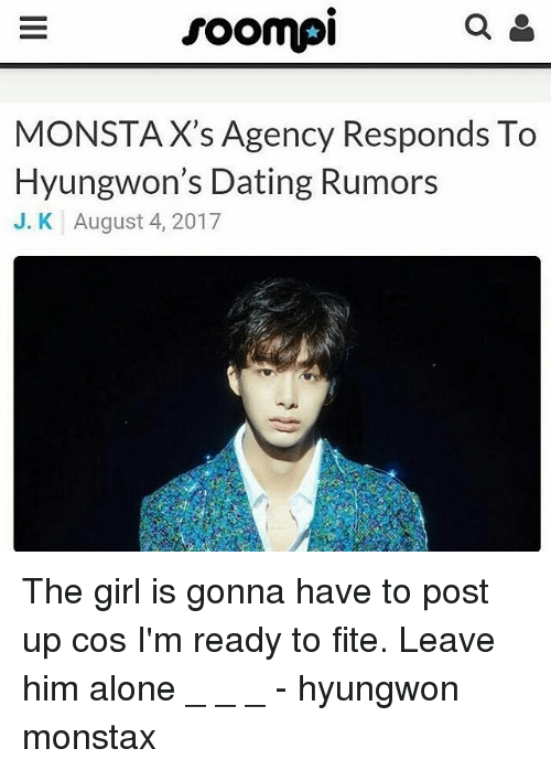 Soompi dating rumors