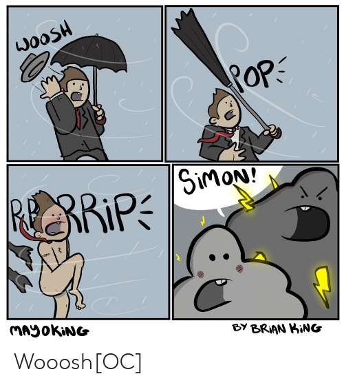 King, Rip, and Brian: ROP  RoP  RiP  BY BRIAN KiNG Wooosh[OC]