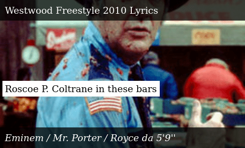 Roscoe P Coltrane in These Bars | Donald Trump Meme on ME ME