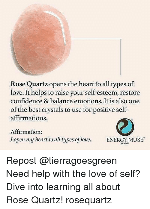 Confidence Energy And Love Rose Quartz Opens The Heart To All Types Of