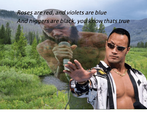 Roses Are Red And Violets Are Blue