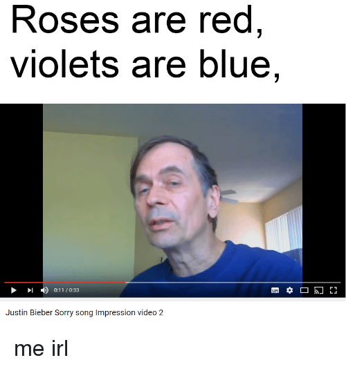 Roses are red memes