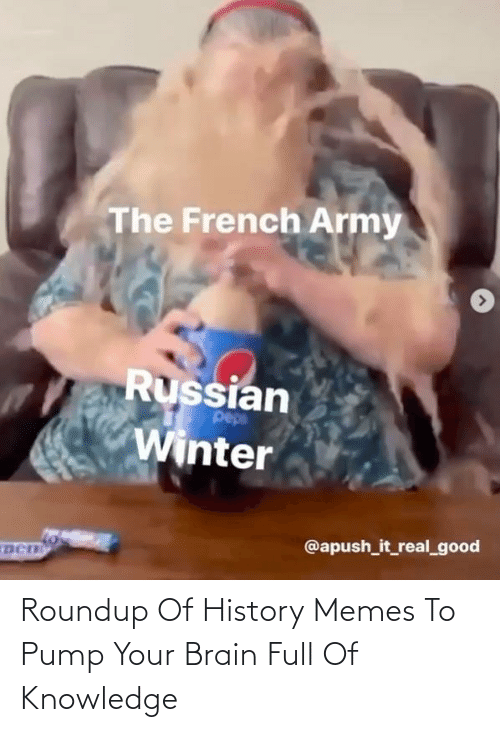 Memes, Brain, and History: Roundup Of History Memes To Pump Your Brain Full Of Knowledge