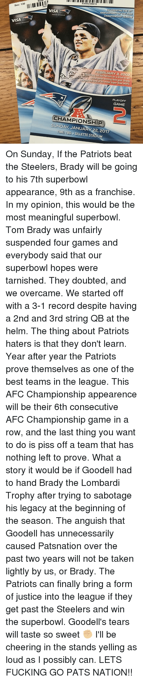 Patriots Haters