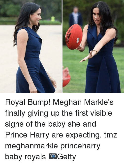 Memes, Prince, and Prince Harry: Royal Bump! Meghan Markle's finally giving up the first visible signs of the baby she and Prince Harry are expecting. tmz meghanmarkle princeharry baby royals 📷Getty