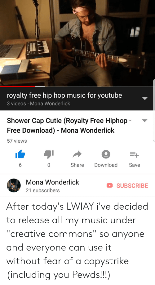 Royalty Free Hip Hop Music for Youtube Videos Mona